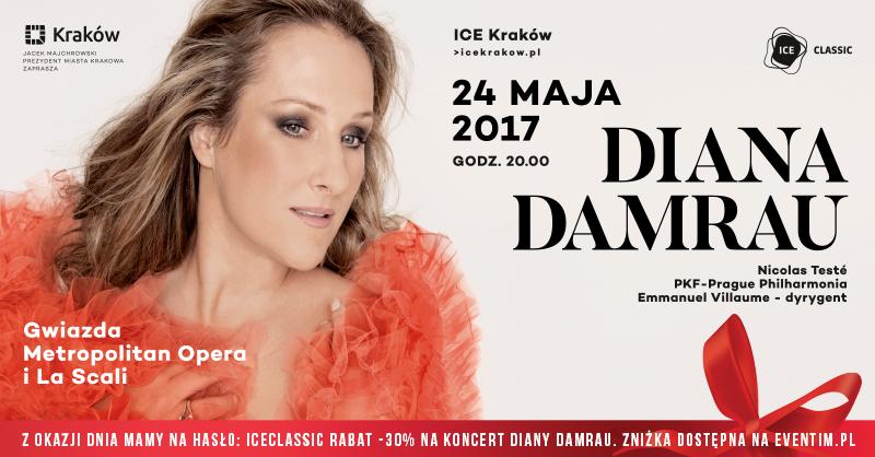 ICE Classic: Diana Damrau już w najbliższą środę!