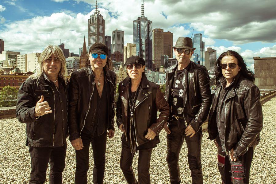 Już dziś grupa Scorpions odsłoni swoją gwiazdę w Alei Gwiazd