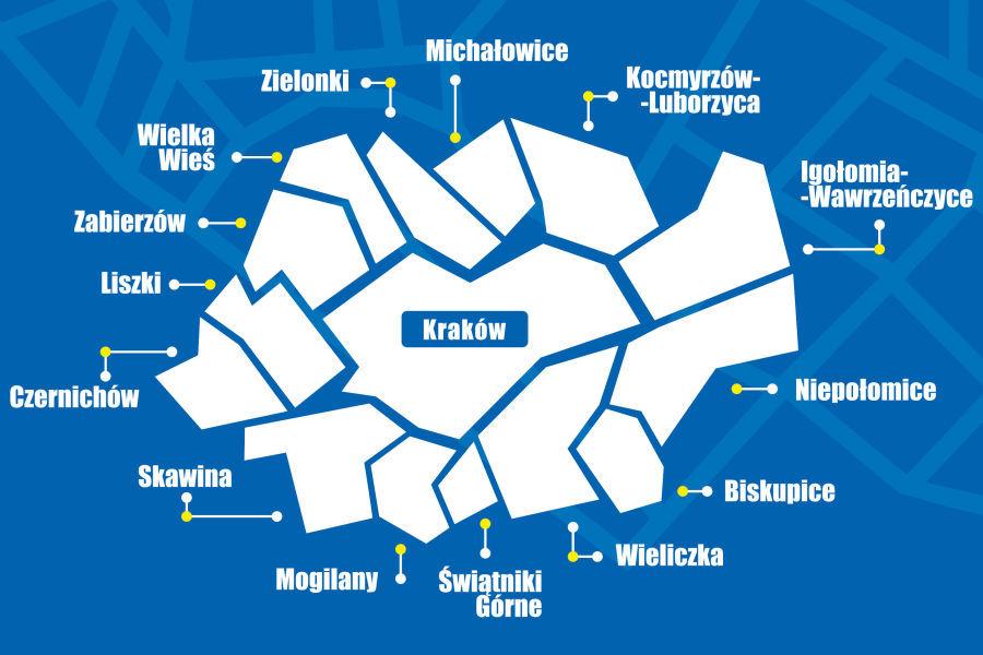 Gminy wokół Krakowa walczą ze smogiem