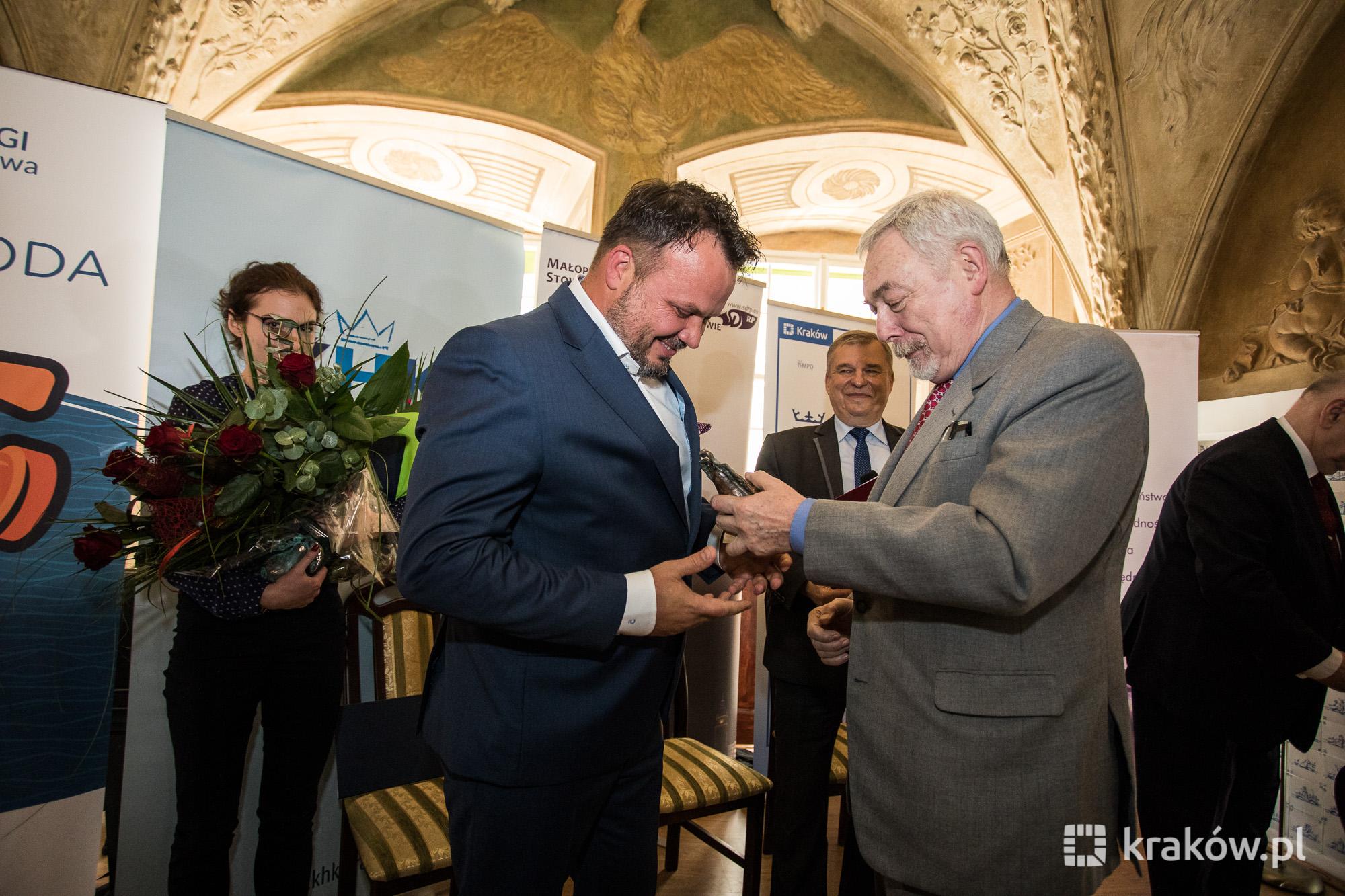 Krakowscy dziennikarze z nagrodami