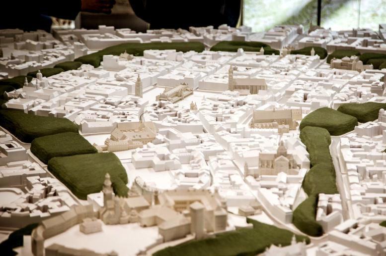 Kraków w skali 1:1600