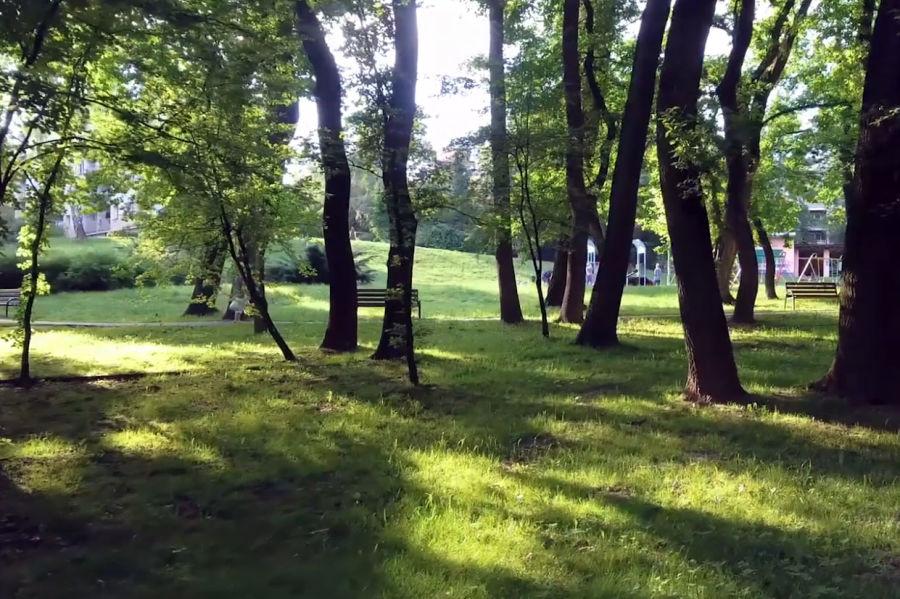 Poznaj park Zielony Jar Wandy ( wideo )