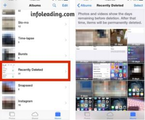 How to recover deleted photos on an iPhone