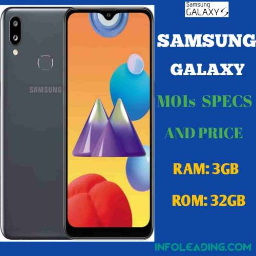 Samsung Galaxy M01s specs and price