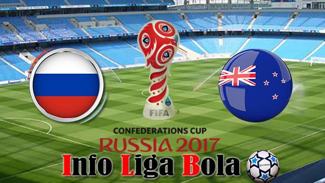 Persiapan Tim Tuan Rumah Rusia menghadapi Selandia Baru Di Piala Konfederasi