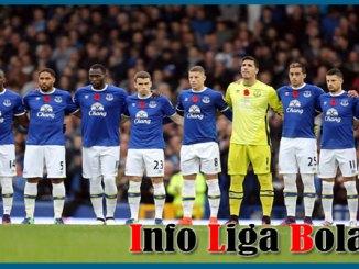 Daftar Susunan Pemain Everton 2017-2018