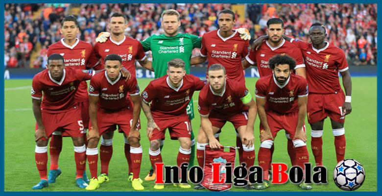 Daftar Susunan Pemain Liverpool 2017-2018