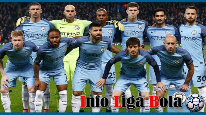 Susunan Pemain Manchester City Musim 2017/2018