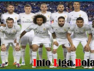 Daftar Susunan Pemain Real Madrid 2017-2018