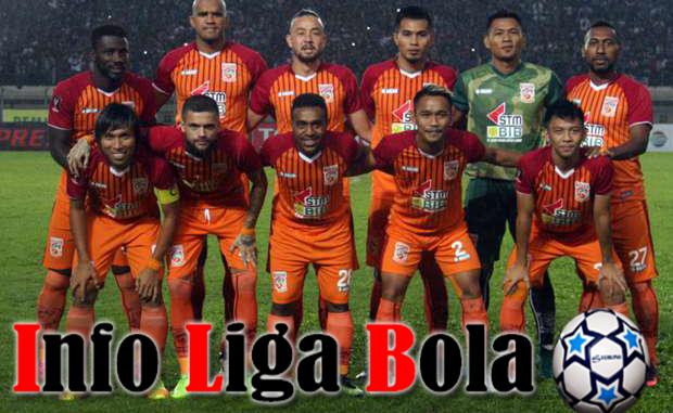 Daftar Susunan BORNEO FC 2017-2018
