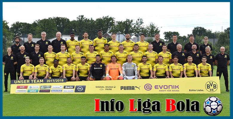 Daftar Skuad Pemain Borussia Dortmund 2017-2018