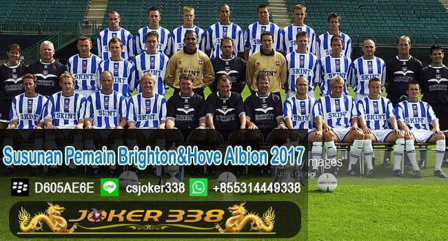 Susunan Pemain Brighton & Hove Albion 2017