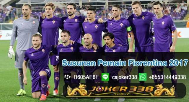 Susunan Pemain Fiorentina 2017-2018