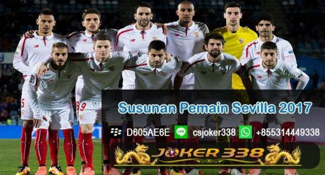 Susunan Pemain Sevilla 2017-2018