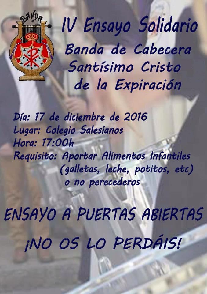 Cartel Ensayo Solidario