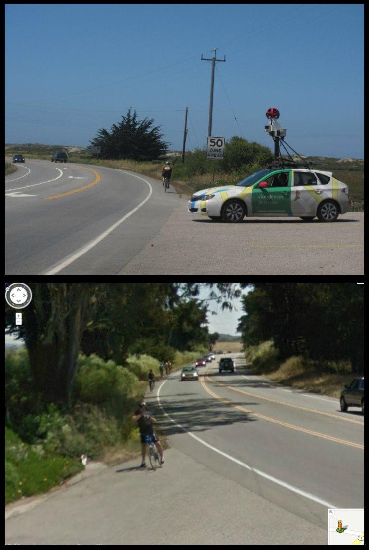 Duel Photos  Insolites Google Cars Maps