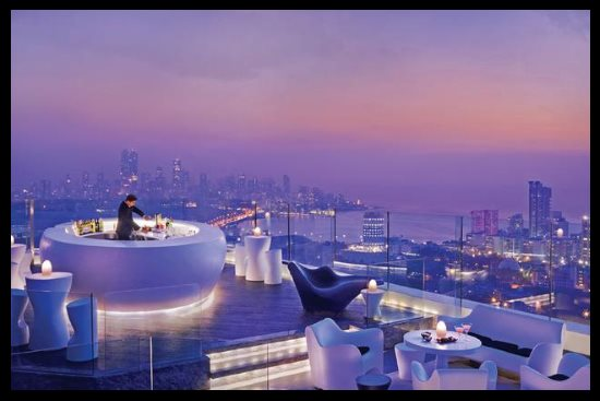 Lounge et restaurant Four Seasons, Mumbai, Inde