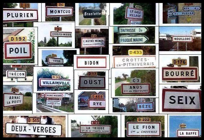 Noms de Villes Insolites