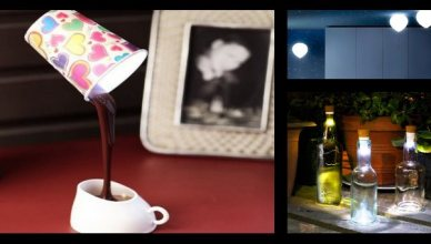 14 lampes insolites