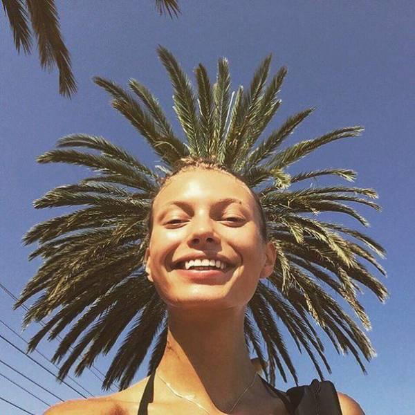 cheveux palmier