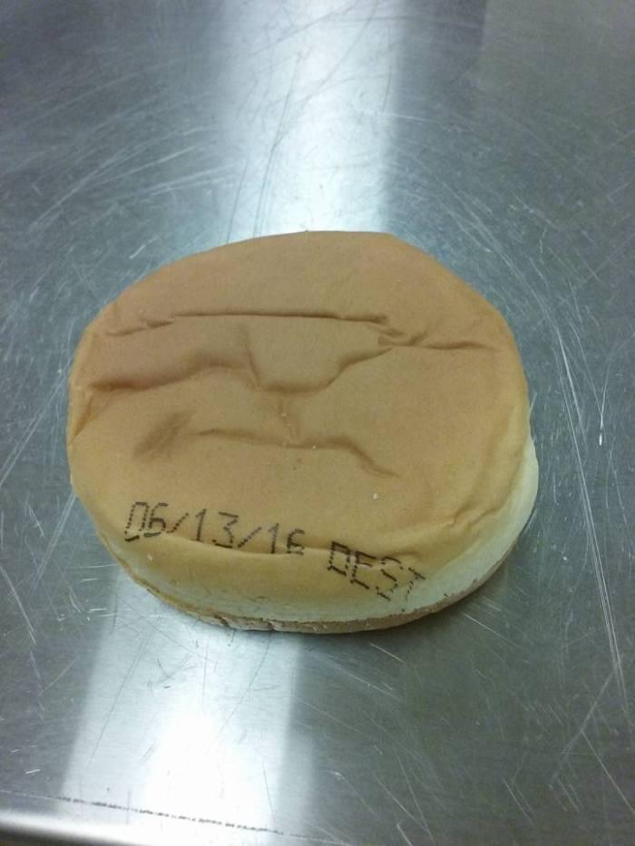 Date de péremption directement sur le burger