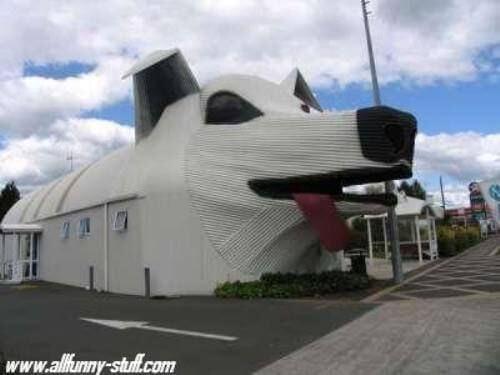 unusual house: