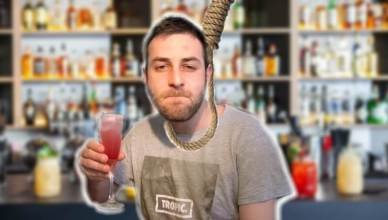 la vie d'un barman