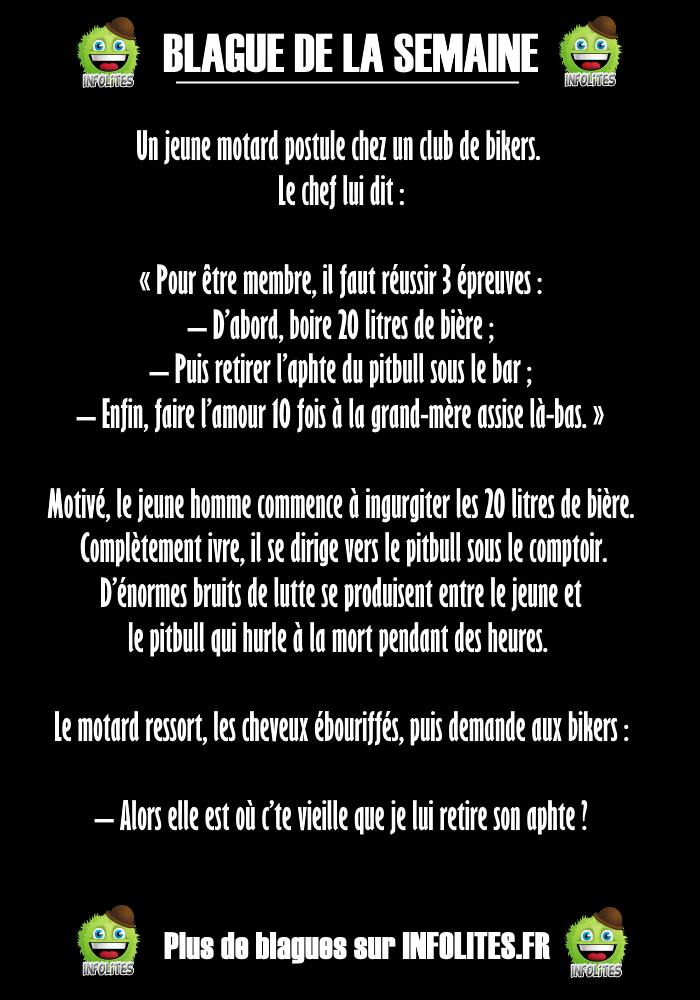 #23 - Blague : Le Club de Bikers