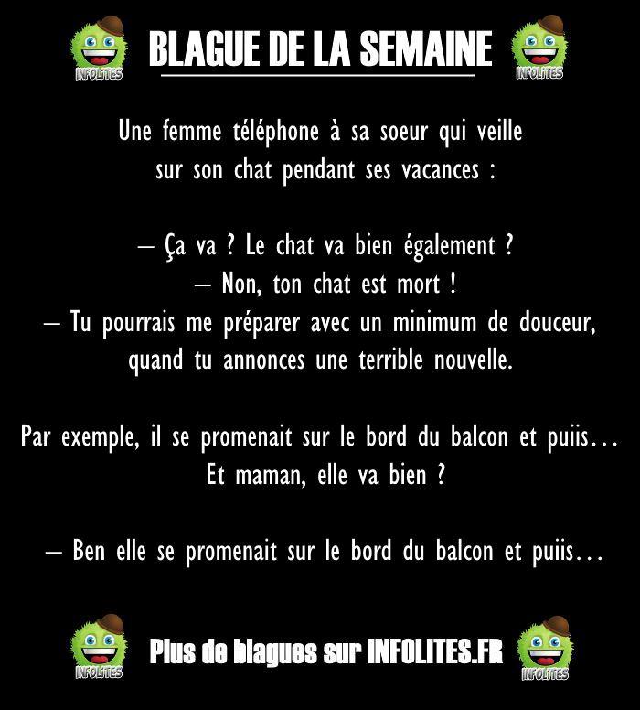 51 - BLAGUE DE LA SEMAINE - 2 soeurs au téléphone