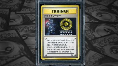 No. 1 Trainer Super Secret Battle