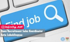 Permalink to Open Recruitment Sales Koordinator, Kota Lubuklinggau