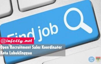 Permalink to Open Recruitment Sales Koordinator, Kota Lubuklinggau