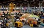 First AC-130J under construction at Lockheed facility