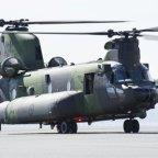 Boeing dostarcza 5 śmigłowiec CH-147F dla Kanady