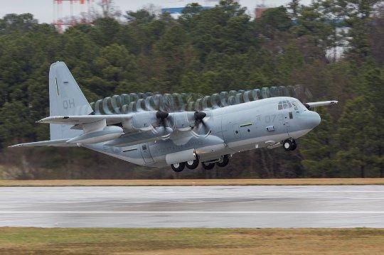 first nas ftw jrb kc-130j -3