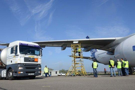 A350_XWB_hot_fuel_certification_testing