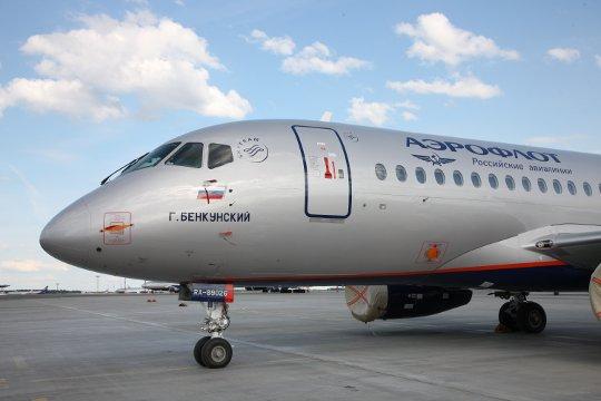 SSJ100 Aeroflot