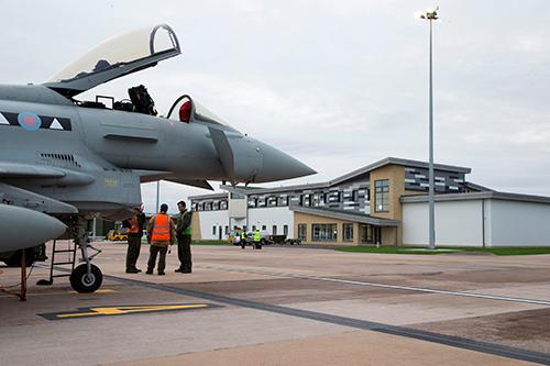 raf lossiemouth typhon
