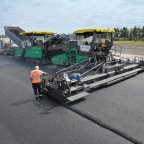 Reconstruction of the surface course at Büchel Air Base using technologies developed by four WIRTGEN GROUP brands