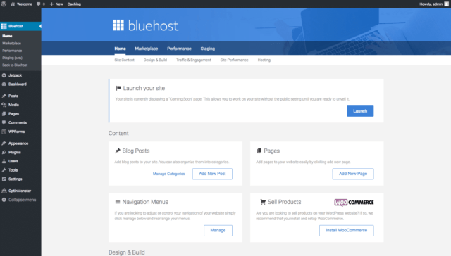 Bluehost-home