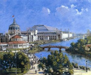 Painting of the World's Fair by Theodore Robinson