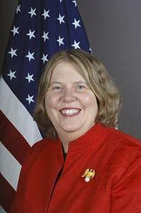 US Ambassador to the Marshall Islands Karen Stewart.