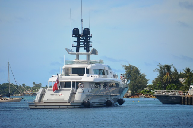Super Yachts Visit RMI • Marshall Islands Guide