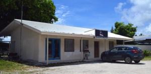 Air Marshall Islands headquarters next to RRE in Uliga. Photo: Karen Earnshaw