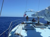 Yacht for sale in Wake Island, mid-Pacific.
