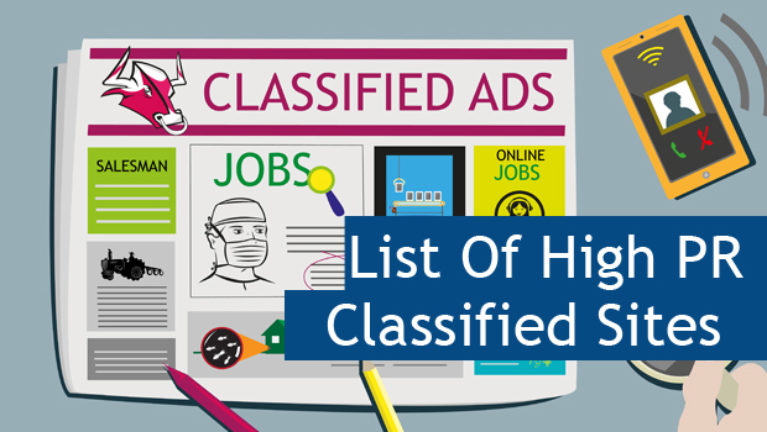 Top 100 Free High PR Do Follow Classified Sites List 2017