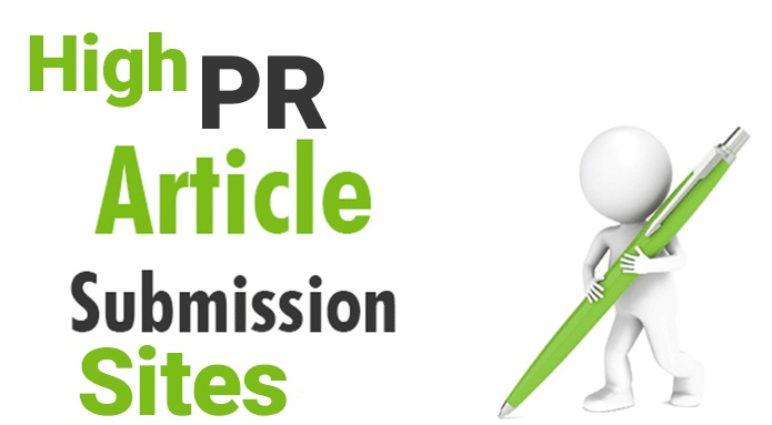 Top 50 High PR free Article Submissions sites list 2017
