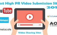 high pr video submission sites list 2018