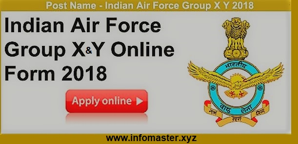 Indian Air Force Recruitment | Apply Online Group X & Y Trades