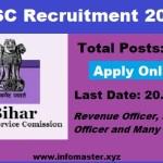 BPSC Recruitment 2018